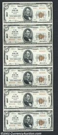 National Bank Notes:Virginia, Saint Paul, VA - $5 1929 Ty. 2 St. Paul NB Ch. # 8547 ...