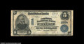 National Bank Notes:Virginia, Salem, VA - $5 1902 Plain Back Fr. 601 The Farmers NB ...