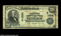 National Bank Notes:Virginia, Salem, VA - $20 1902 Plain Back Fr. 653 The Farmers NB ...