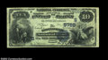 National Bank Notes:Virginia, Scottsville, VA - $10 1882 Value Back Fr. 577 The ...