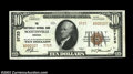National Bank Notes:Virginia, Scottsville, VA - $10 1929 Ty. 2 The Scottsville NB Ch....