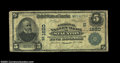 National Bank Notes:Virginia, Staunton, VA - $5 1902 Plain Back Fr. 599 The National ...