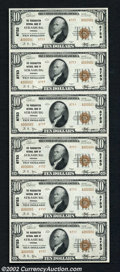 National Bank Notes:Virginia, Strasburg, VA - $10 1929 Ty. 2 The Massanutten NB Ch. #...