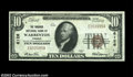 National Bank Notes:Virginia, Warrenton, VA - $10 1929 Ty. 1 The Fauquier NB Ch. # ...