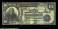 National Bank Notes:Virginia, Warrenton, VA - $10 1902 Date Back Fr. 619 The Peoples ...