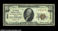 National Bank Notes:Virginia, Warrenton, VA - $10 1929 Ty. 1 The Peoples NB Ch. # ...