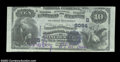 National Bank Notes:Virginia, Winchester, VA - $10 1882 Value Back Fr. 577 The Farmers ...