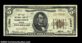 National Bank Notes:Virginia, Yorktown, VA - $5 1929 Ty. 1 The First NB Ch. # 11554...