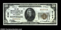 National Bank Notes:West Virginia, Huntington, WV - $20 1929 Ty. 1 The First Huntington NB...