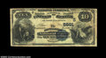 National Bank Notes:West Virginia, Montgomery, WV - $10 1882 Value Back Fr. 577 The ...