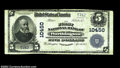 National Bank Notes:West Virginia, Worthington, WV - $5 1902 Plain Back Fr. 604 The First ...