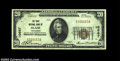 National Bank Notes:Wisconsin, Blair, WI - $20 1929 Ty. 1 The First NB Ch. # 10667...