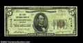 National Bank Notes:Wisconsin, Blanchardville, WI - $5 1929 Ty. 1 The First NB Ch. # ...