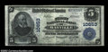 National Bank Notes:Wisconsin, Mayville, WI - $5 1902 Plain Back Fr. 605 The First NB ...