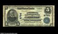 National Bank Notes:Wisconsin, Wausau, WI - $5 1902 Plain Back Fr. 606 American NB Ch....