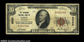 National Bank Notes:Wyoming, Cody, WY - $10 1929 Ty. 1 The Shoshone NB Ch. # 8020...