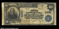 National Bank Notes:Wyoming, Laramie, WY - $10 1902 Plain Back Fr. 631 The First NB ...