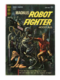 Silver Age (1956-1969):Science Fiction, Magnus Robot Fighter #1 (Gold Key, 1963) Condition: FN....