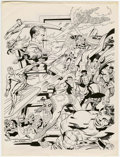 Original Comic Art:Miscellaneous, Jack Kirby Portfolio (undated).... (Total: 16 Items)