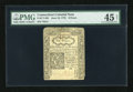 Colonial Notes:Connecticut, Connecticut June 19, 1776 6d PMG Choice Extremely Fine 45 Net....