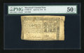 Colonial Notes:Maryland, Maryland April 10, 1774 $2 PMG About Uncirculated 50 EPQ....