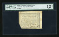 Colonial Notes:North Carolina, North Carolina May 10, 1780 $100 PMG Fine 12 Net....