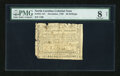 Colonial Notes:North Carolina, North Carolina December, 1768 20s PMG Very Good 8 Net....
