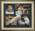 Baseball Collectibles:Others, Joe DiMaggio Signed Artist's Proof Lithograph. Photographic realismis the favored style of artist Danny Day, who masterful...