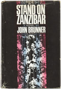 Books:First Editions, John Brunner. Stand on Zanzibar. Garden City, New York:Doubleday & Company, Inc., 1968....