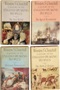 Books:Non-fiction, Winston S. Churchill. A History of the English-SpeakingPeoples. London: Cassell and Company, [1956-1958]....
