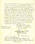Autographs:Non-American, King Ferdinand I of Romania Document Signed,...