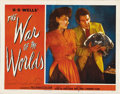 "Movie Posters:Science Fiction, The War of the Worlds (Paramount, 1953). Autographed Lobby Card(11"" X 14"")...."