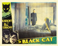 "Movie Posters:Horror, The Black Cat (Universal, 1934). Lobby Card (11"" X 14"")...."