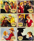 """Movie Posters:Western, To the Last Man (Paramount, 1933). Lobby Cards (6) (11"""" X 14"""")....(Total: 6 Items)"""