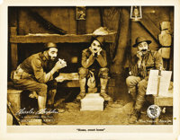 """Shoulder Arms (First National, 1918). Lobby Card (11"""" X 14"""")"""