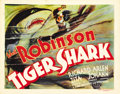 "Movie Posters:Drama, Tiger Shark (First National, 1932). Title Lobby Card (11"" X14"")...."