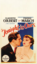 """Movie Posters:Romance, Tonight is Ours (Paramount, 1933). Midget Window Card (8"""" X14"""")...."""