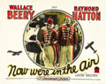 "Movie Posters:Comedy, Now We're in the Air (Paramount, 1927). Lobby Card (11"" X 14"")...."