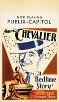 """Movie Posters:Musical, A Bedtime Story (Paramount, 1933). Midget Window Card (8"""" X14"""")...."""