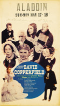 "Movie Posters:Drama, David Copperfield (MGM, 1935). Midget Window Card (8"" X 14"")...."