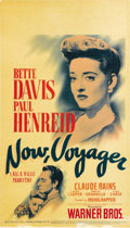 "Movie Posters:Romance, Now, Voyager (Warner Brothers, 1942). Midget Window Card (8"" X 14"")...."