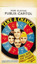 """Movie Posters:Musical, Take a Chance (Paramount, 1933). Midget Window Card (8"""" X 14"""")...."""
