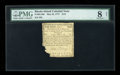 Colonial Notes:Rhode Island, Rhode Island May 22, 1777 $1/9 PMG Very Good 8 Net....