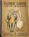 Books:Children's Books, L. Frank Baum. Father Goose - His Book. Chicago: Geo. M.Hill Co. Publishers, [1899]....