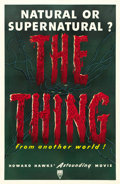 "Movie Posters:Science Fiction, The Thing from Another World (RKO, 1951). One Sheet (27"" X 41"")...."
