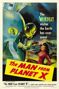 """The Man from Planet X (United Artists, 1951). One Sheet (27"""" X 41"""")"""