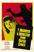 "Movie Posters:Science Fiction, I Married a Monster From Outer Space (Paramount, 1958). One Sheet (27"" X 41"")...."
