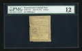 Colonial Notes:Pennsylvania, Pennsylvania April 10, 1777 9d PMG Fine 12....
