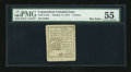 Colonial Notes:Connecticut, Connecticut October 11, 1777 4d PMG About Uncirculated 55....