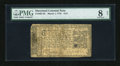 Colonial Notes:Maryland, Maryland March 1, 1770 $1/6 PMG Very Good 8 Net....